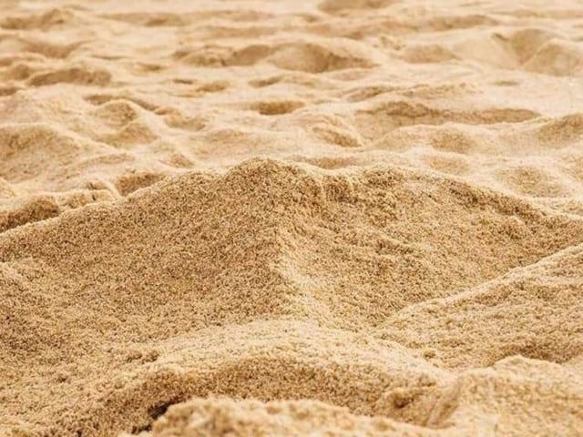 elaboración de arena fina